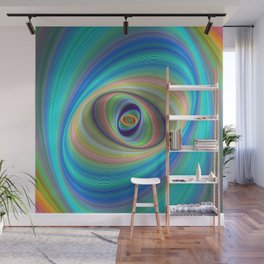 Hypnotic eye Wall Mural