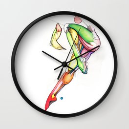 The Farthest Star, Nude female abstract anatomy, NYC artist Wall Clock