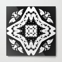 Callisto I (White) Metal Print