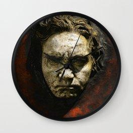 Ludwig van Beethoven (1770-1827) by Franz von Stuck (1863 - 1928)(1) Wall Clock
