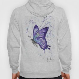 Lavender Butterfly Hoody