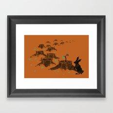 Rebirth Orange Framed Art Print