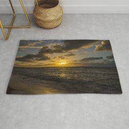Golden Sunrise by Teresa Thompson Rug