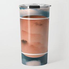 Geometric Sky  Travel Mug