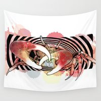 cancer Wall Tapestries featuring Cancer by NASBarte
