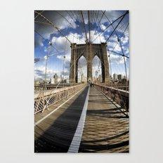 Brooklyn Bridge afternoon Canvas Print