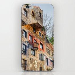 Hundertwasserhaus Vienna Austria iPhone Skin