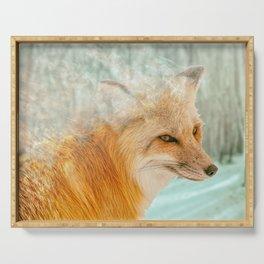 Spirit Fox Serving Tray