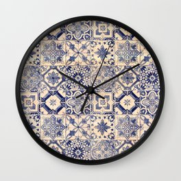Ornamental pattern Wall Clock
