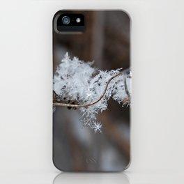 Delicate Snowflake iPhone Case