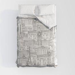 EUROPE LANDMARK PATTERN Comforters