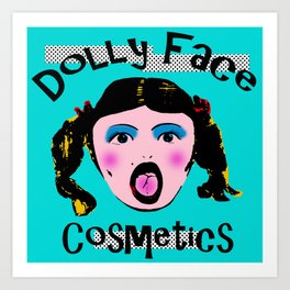 Dolly Face Art Print