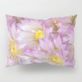 Soft Cactus Blossoms, Desert Floral Art by Murray Bolesta Pillow Sham