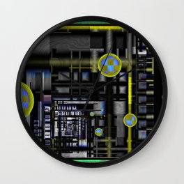 Inside the Machine Wall Clock