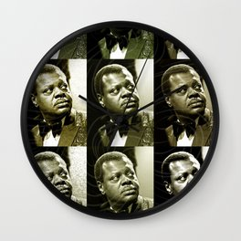 Jazz Heroes Series - Oscar Peterson Wall Clock