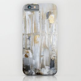 Metallic Abstract iPhone Case