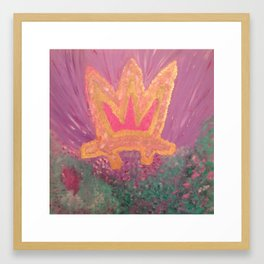 Crown of Flowers Gerahmter Kunstdruck