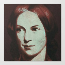 Charlotte Bronte Canvas Print