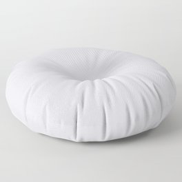 Behr Script White (Pale Pastel Gray) N540-1 Solid Color Floor Pillow