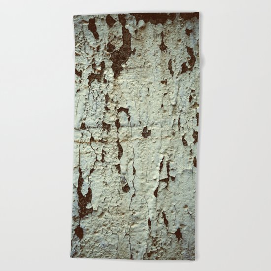 Time goes by Beach Towel