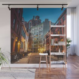 Twilight Hour - West Village, New York City Wall Mural