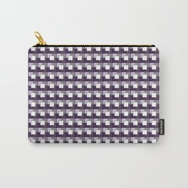 Purple Squares. Manchester Architectural Collection Carry-All Pouch