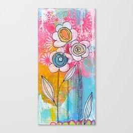 flower garden no.01 Canvas Print