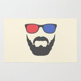 3D beard Rug