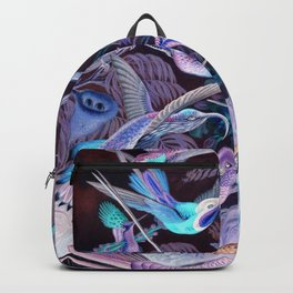 Ode to Haeckel's Hummingbirds Backpack
