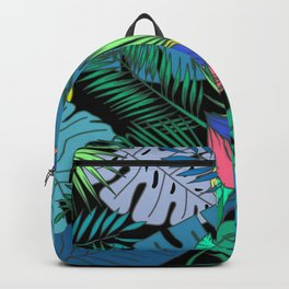 TROPICAL GARDEN B (abstract) Backpack