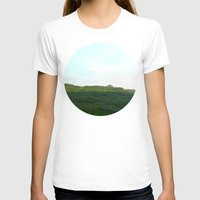 scotland T-shirts featuring road way, scotland by seb mcnulty