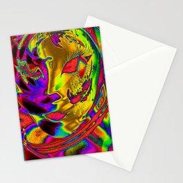 Mask 02 Stationery Cards