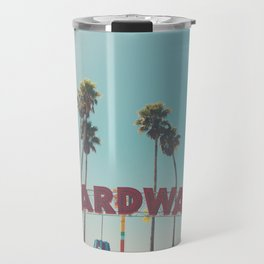 Santa Cruz boardwalk ... Travel Mug