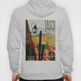 Vintage Tasco Mexico Travel Hoody