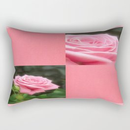 Pink Roses in Anzures 3 Blank Q11F0 Rectangular Pillow