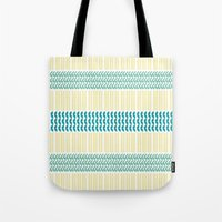 knit Tote Bags featuring Knit Pattern by K&C Design