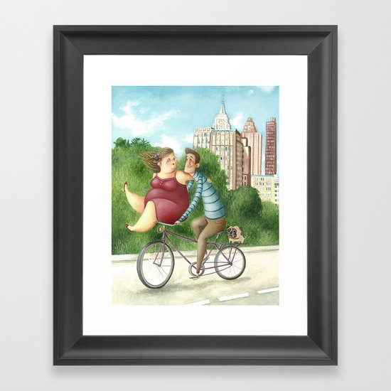 Unconditional Love Framed Art Print