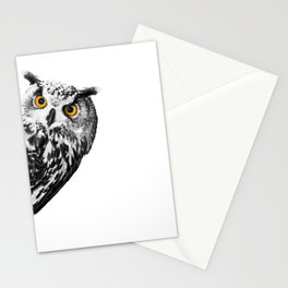 Sneaky Owl Stationery Cards
