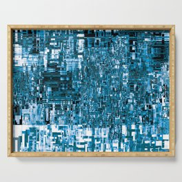 Circuitry Abstract Serving Tray