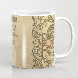Shakespeare, Romeo and Juliet 1597 Coffee Mug