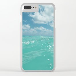 Hawaii Water Clear iPhone Case