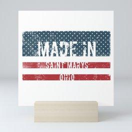 Made in Saint Marys, Ohio Mini Art Print