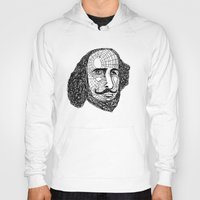 shakespeare Hoodies featuring William Shakespeare by Feld Sprucetree