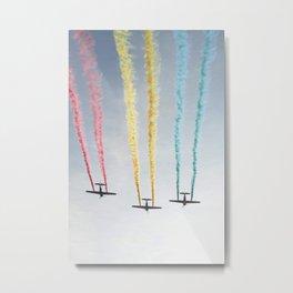 parade of planes Metal Print