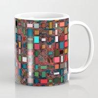 mosaic Mugs featuring Mosaic by Lyle Hatch