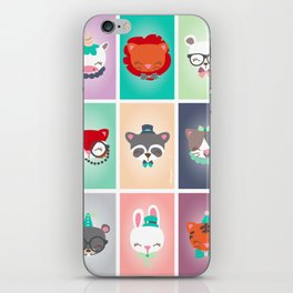Zoo - Collection Dandynimo's - iPhone Skin