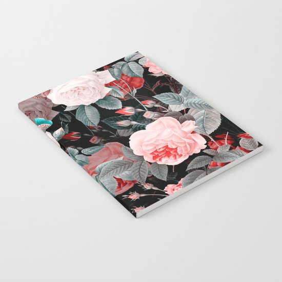 Botanic Floral Notebook