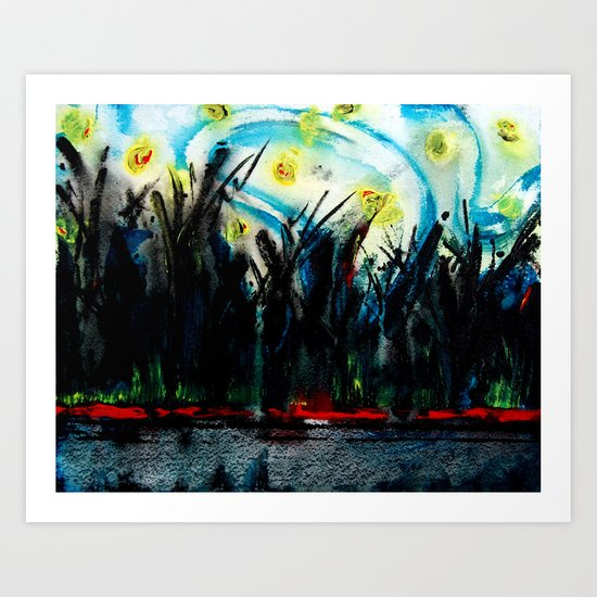 Hope in the Night Art Print