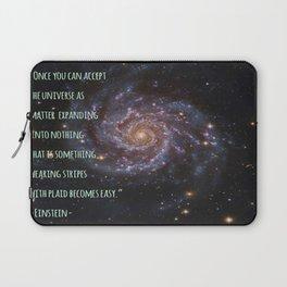 Einstein's Unified Fashion Theory Laptop Sleeve