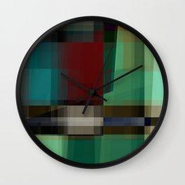 seekin' illusion Wall Clock
